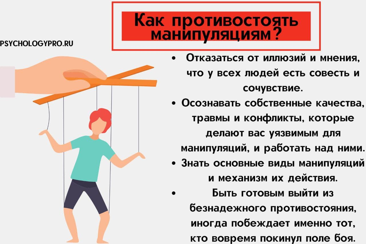 Инфографик мужчина манипулятор в отношениях