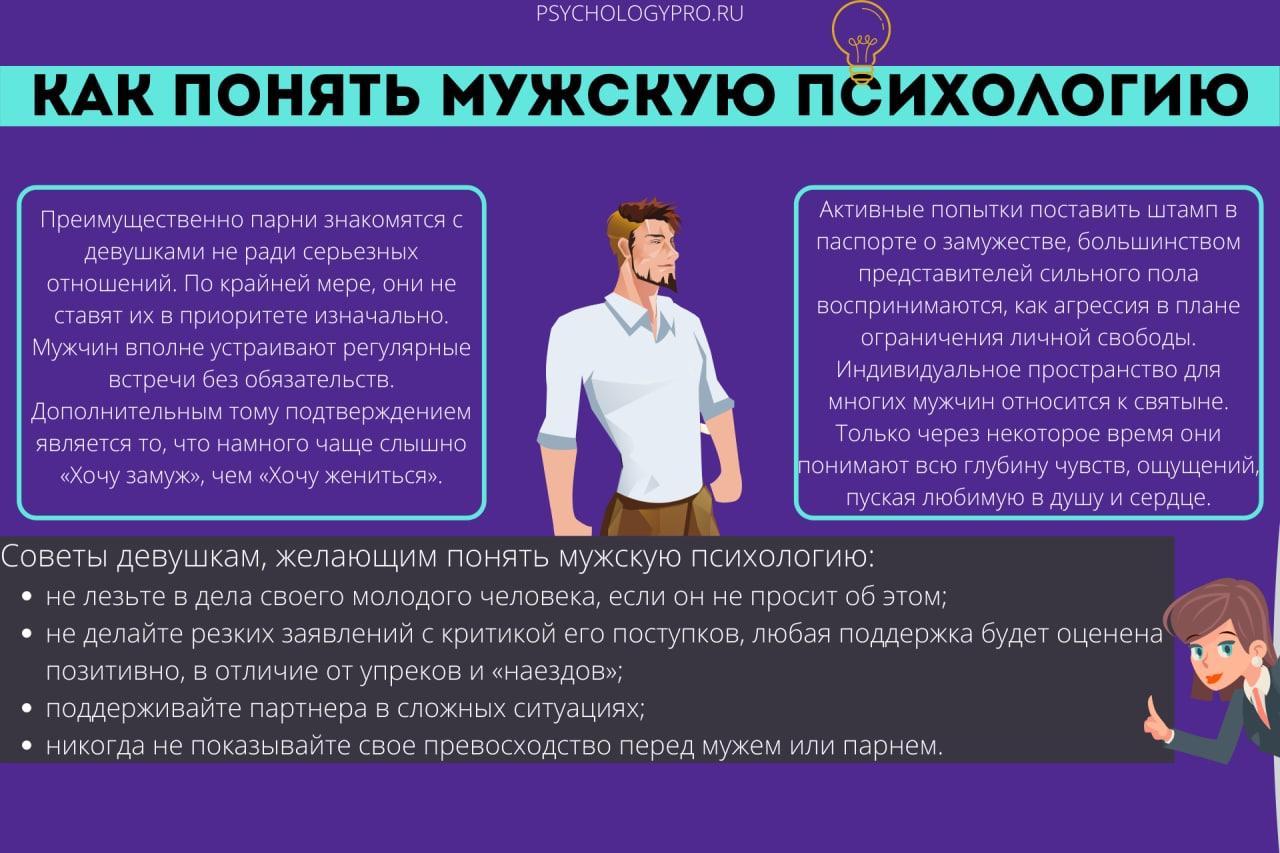 Что нужно знать о психологии мужчины в любви, чтобы построить с ним долгие и счастливые отношения
