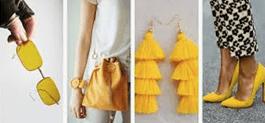 Желтые цвета