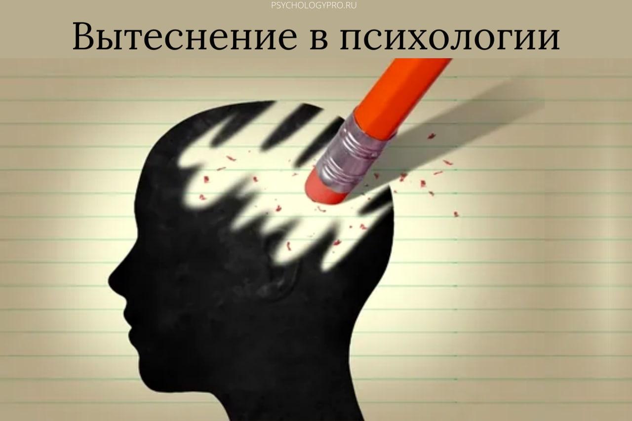 вытеснение в психоанализе